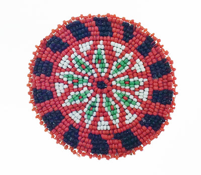 "3"" Green Red Star Rosettes 10D"