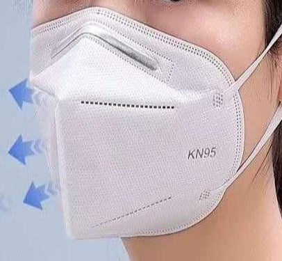 White KN95 Face Mask 2-pack