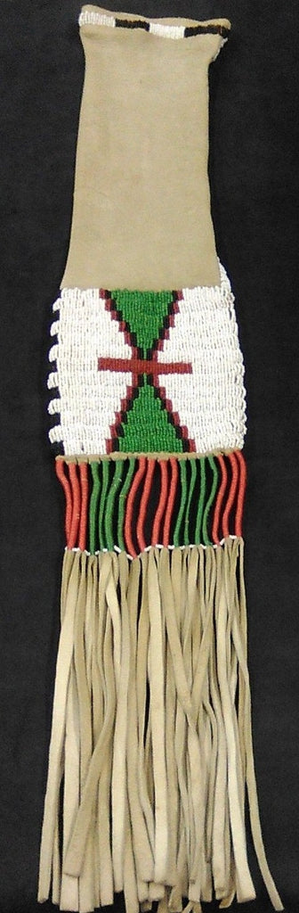 Beaded Pipe Bag, Plains