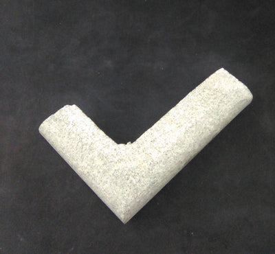 "Soapstone Pipe Blank, 'L'  4""x 5.75"""