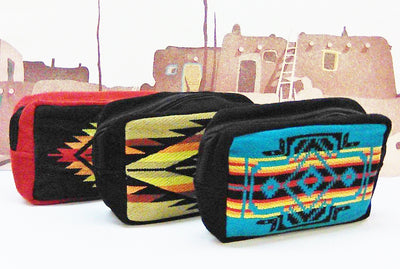 Southwest Travel Pouch - Assorted Colors