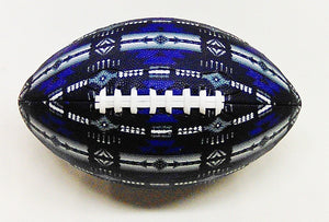 Football Native American Style - Blue & Grey