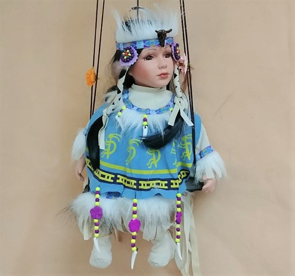 "Swing Doll Koko 16""- Light Blue"