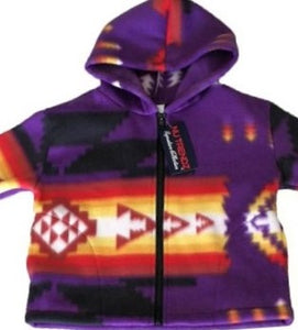Purple Polar Fleece Jackets