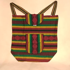 Falsa Backpack - Rasta Stripes