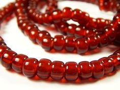 Red Tr Crow beads