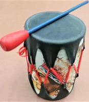 Small Rubber Toy Drum