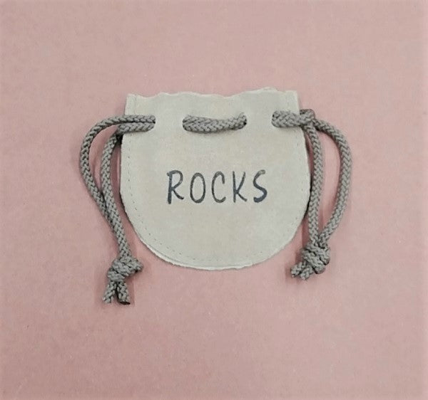 "Rock Pouch - Leather 3""x 3"""