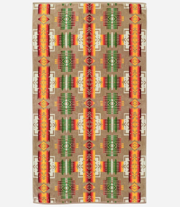 Pendleton Chief Joseph Khaki Spa Towel