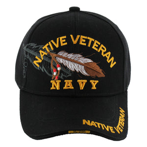Veteran Native Hat - Navy