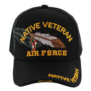 Veteran Native Hat - Airforce