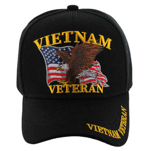 Vietnam Veteran Eagle Black Hat