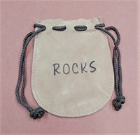 "Rock Pouch - Leather 4""x 5"""
