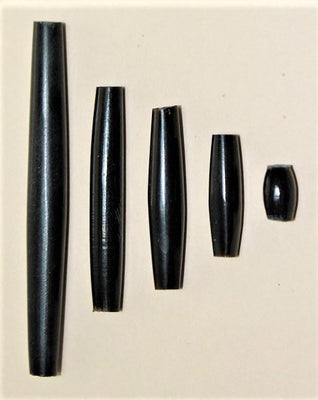 Horn Hairpipe Black