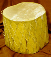 "Native American Log Drum, 20"" Tall"