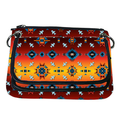 Printed Gradient Crossbody Purse - Diamond Glow