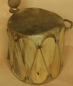 "Cochiti Log Drum 8""x 7.5"""