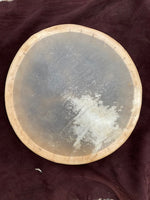 "Hand Drum, 15"" Natural Deer"