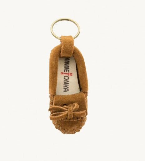 Mini Moc Keychain - Rusty Brown
