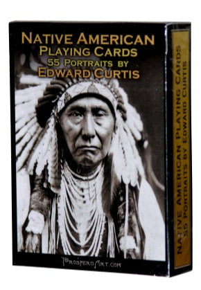 Native American Playing Cards 55 Portraits by Edward Curtis