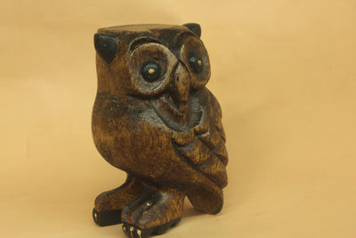 Wooden Owl Whistle