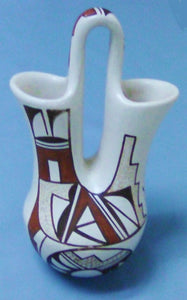"Hopi Wedding Vase 8"" Painted"