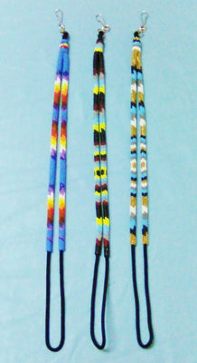 Native Design Lanyard - 2/3 Beaded 20""