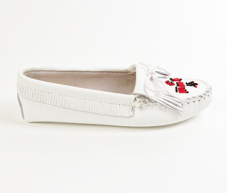 Thunderbird Smooth Leather Softsole - White
