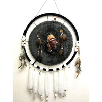 24'' Dreamcatcher Indian Couple