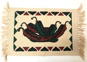 "Place Mat Chili Harvest 13"" x 19"""