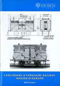 LANCASHIRE & YORKSHIRE RAILWAY WAGON DIAGRAMS