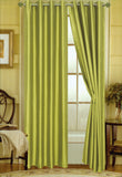 "Editex Elaine 90""L Faux Silk Panel with 8-Top Grommets"