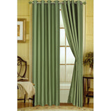 "Editex Elaine 108""L Faux Silk Panel with 8-Top Grommets"