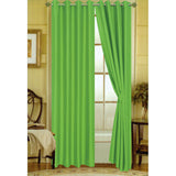 "Editex Elaine 63""L Faux Silk Panel with 8-Top Grommets"