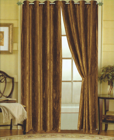 Susanne Crushed Velvet Panel Set of Two