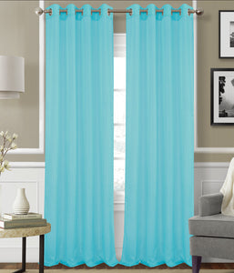 Monique Voile Sheer Panel with 8-Top Grommets