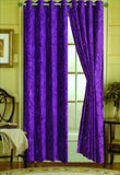 Keila Crushed Velvet Panel with Grommets