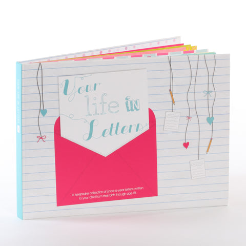 """Your Life in Letters"" Book (Girl)"
