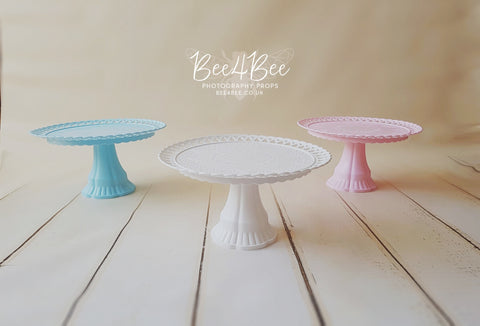 cake stand 3 colours! RTS