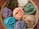 XL hand dyed mohair wraps RTS