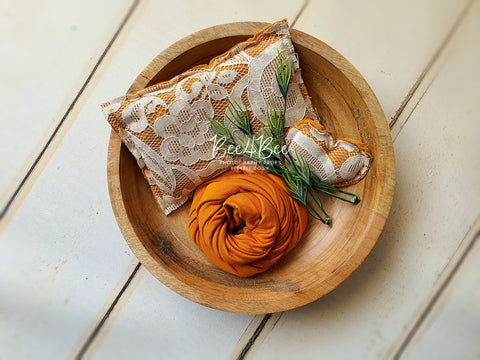burnt orange pillow bundle RTS