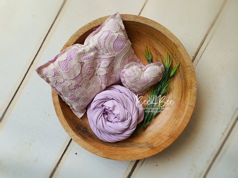 lilac pillow bundle RTS