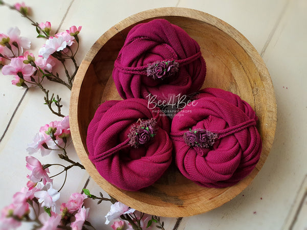 fuchsia wrap set RTS