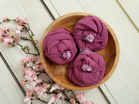 soft fuchsia wrap set RTS