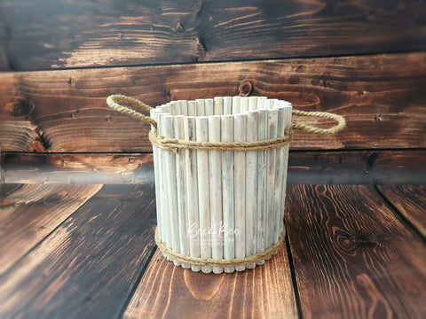 tall rustic style posing bucket RTS