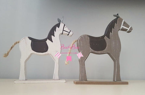 wooden horse toy RTS