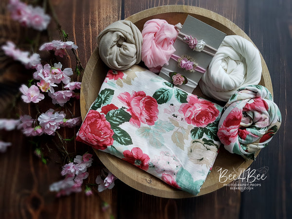 floral backdrop bundle RTS