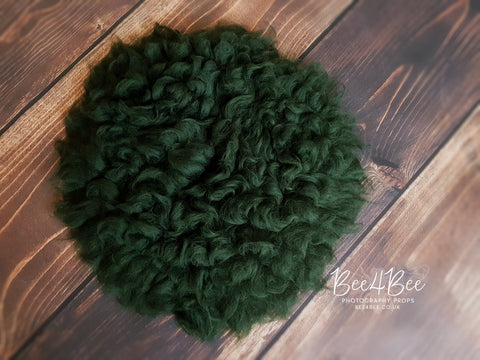 fluffy blanket green RTS