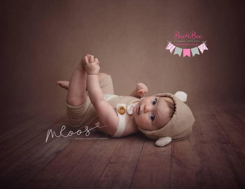 baby bear outfit beige RTS