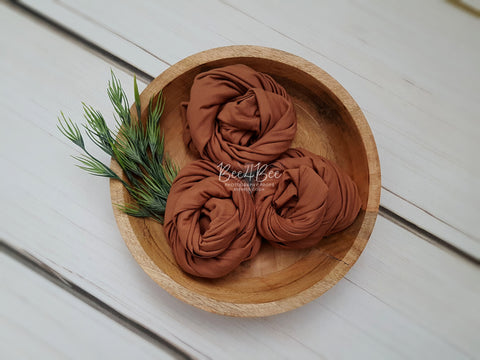 toffee brown wrap RTS
